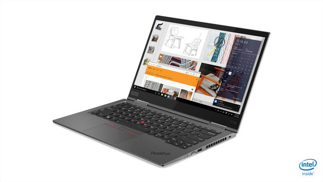 lenovo updated thinkpad x1 carbon yoga ces 2019 05 hero front facing left