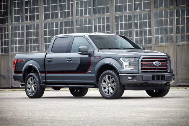 2015 F-150 Lariat Special Edition front angle