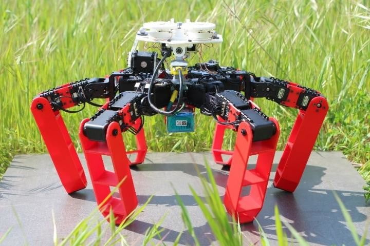 Ant-inspired walking robot navigates without GPS by using polarized light