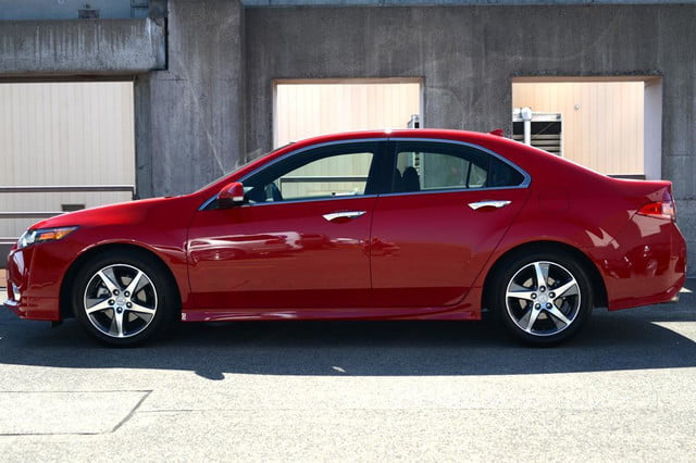 2012 acura tsx special edition accura exterior left side