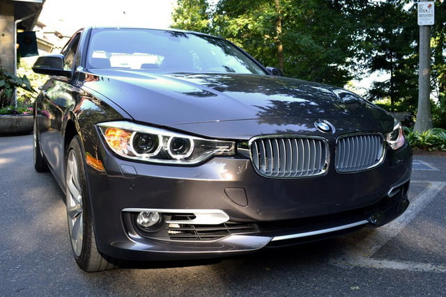 2012 bmw 335i review exterior front right angle