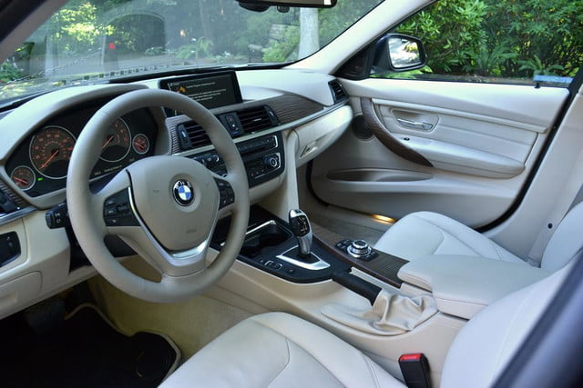 2012 bmw 335i review interior drivers seat right angle