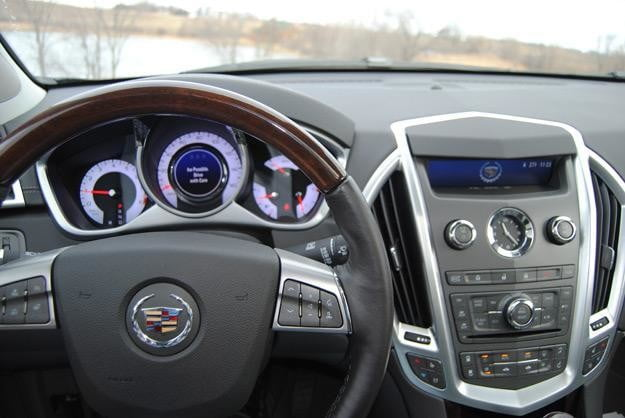 2012 cadillac srx steering wheel
