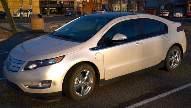 2017 Chevy Volt Driver Side