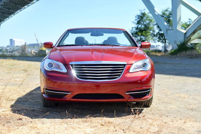2012 chrysler 200 touring convertible review exterior front