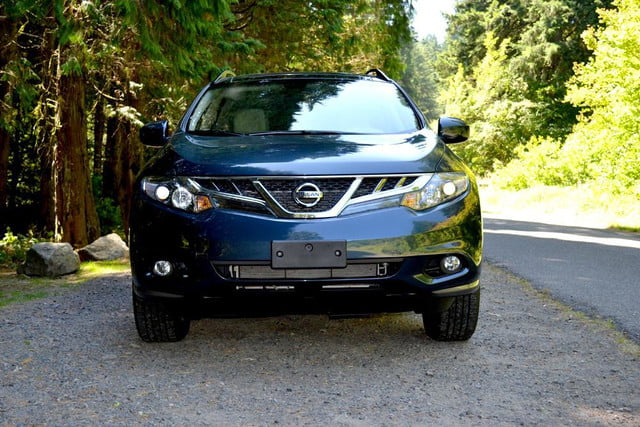 2012 nissan murano sl awd crossover review exterior front