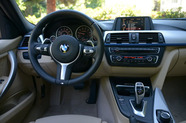 2013 bmw 328i m sport interior front driver view