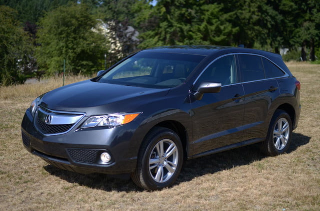 2014 Acura RDX exterior front left angle