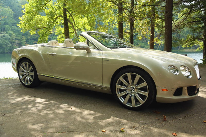 2014 Bentley Continental GTC Exterior Right Angle