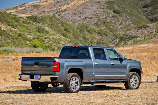 2014 GMC Sierra 1500 4WD rear right angled
