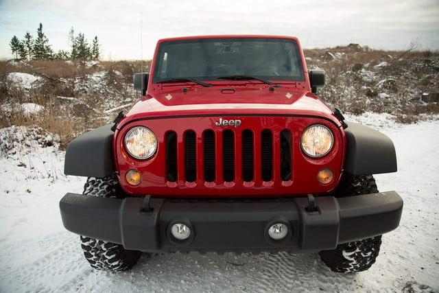 2014 Jeep Wrangler Unlimited Sport front