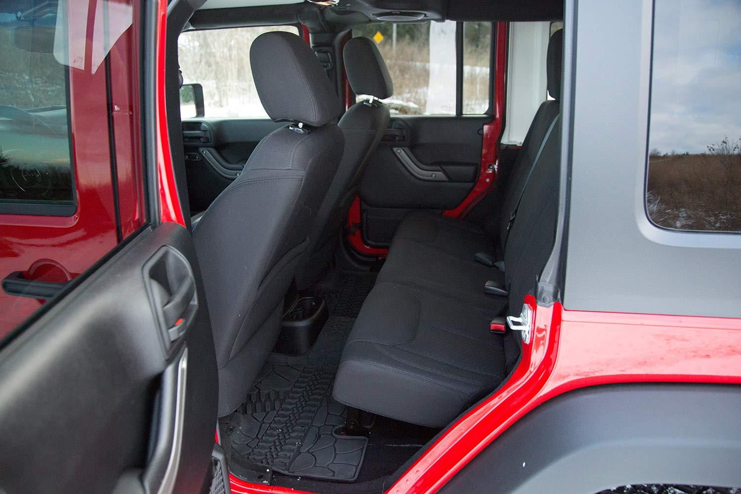2014 Jeep Wrangler Unlimited Sport Interior Rear