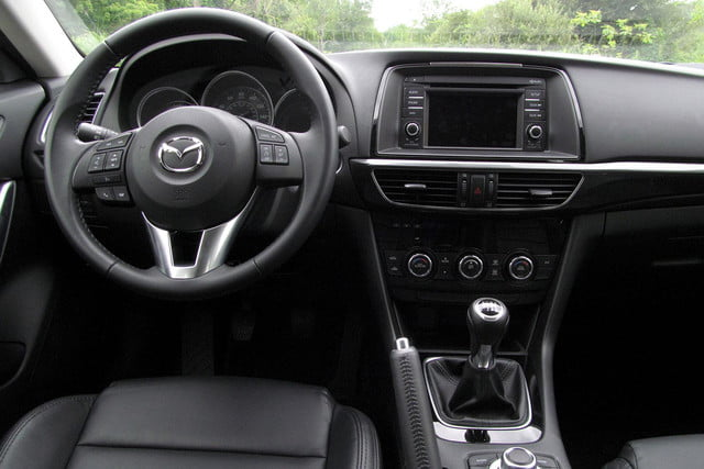 2014 mazda6 i touring review drivers front