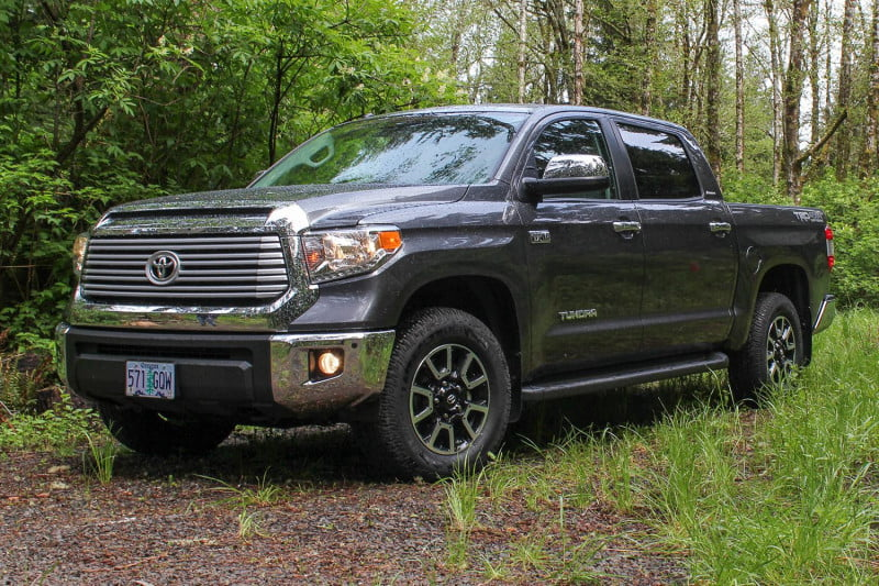 For Sale - 2014 Tundra TRD wheels with tires | IH8MUD Forum