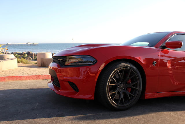 2015 Dodge Charger SRT Hellcat front section