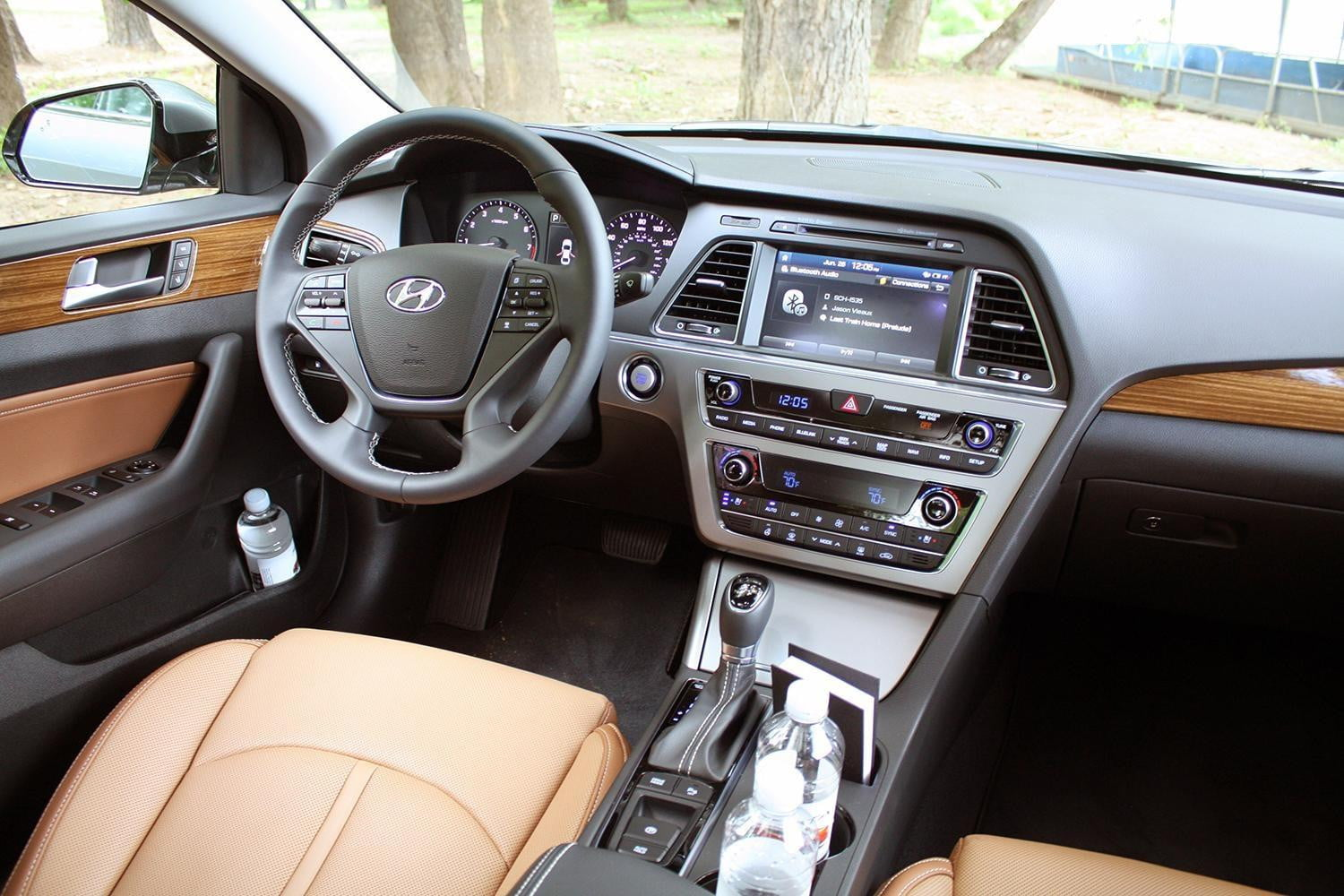 about capsule ttac front sonata quarter three review limited cars the truth hyundai