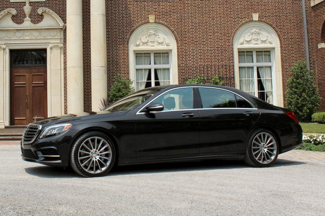 2015 Mercedes Benz S550 right side