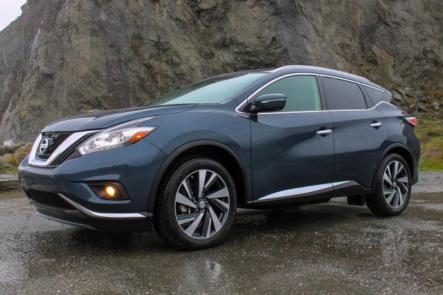 2015 Nissan Murano review front side angle
