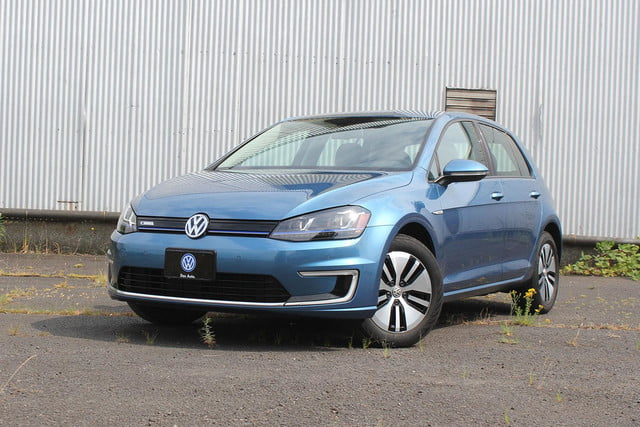 2015 vw e golf volkswagen front angle