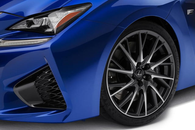 2015 lexus rc f is revealed ahead of the 2014 detroit auto show