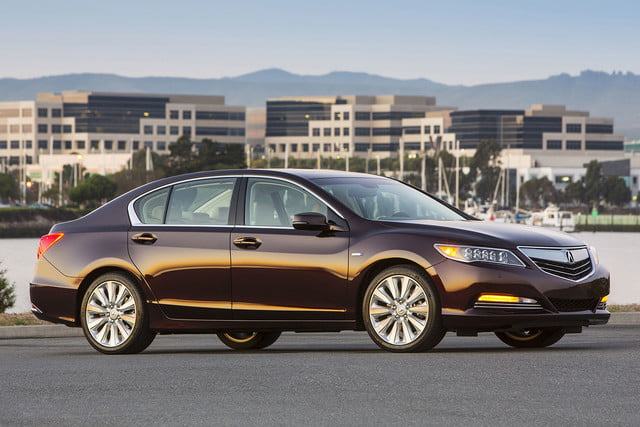 2016 Acura RLX Sport Hybrid parked right side
