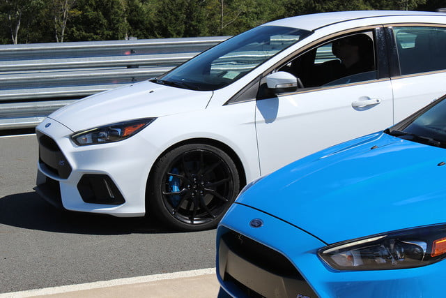 2016 ford focus rs first drive front white