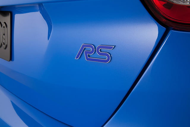 2016 Ford Focus RS press