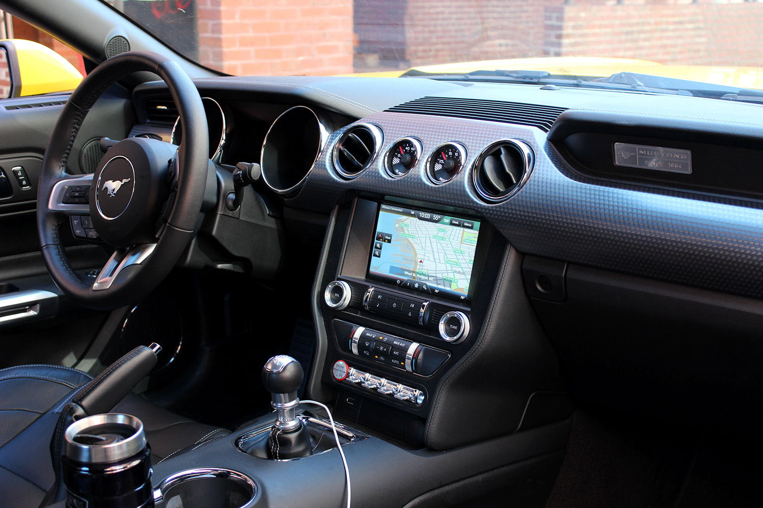 2015 ford mustang interior color options www