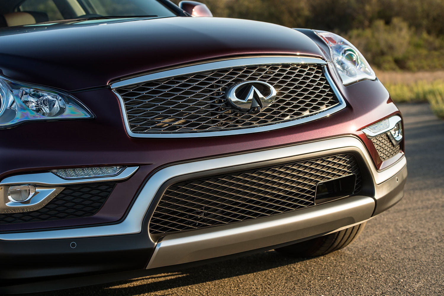 2016 infiniti qx50 compact luxury crossover review digital trends. Black Bedroom Furniture Sets. Home Design Ideas
