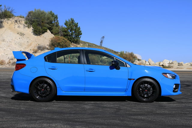 2016 Subaru Wrx Sti Serieshyperblue First Drive Series Hyperblue