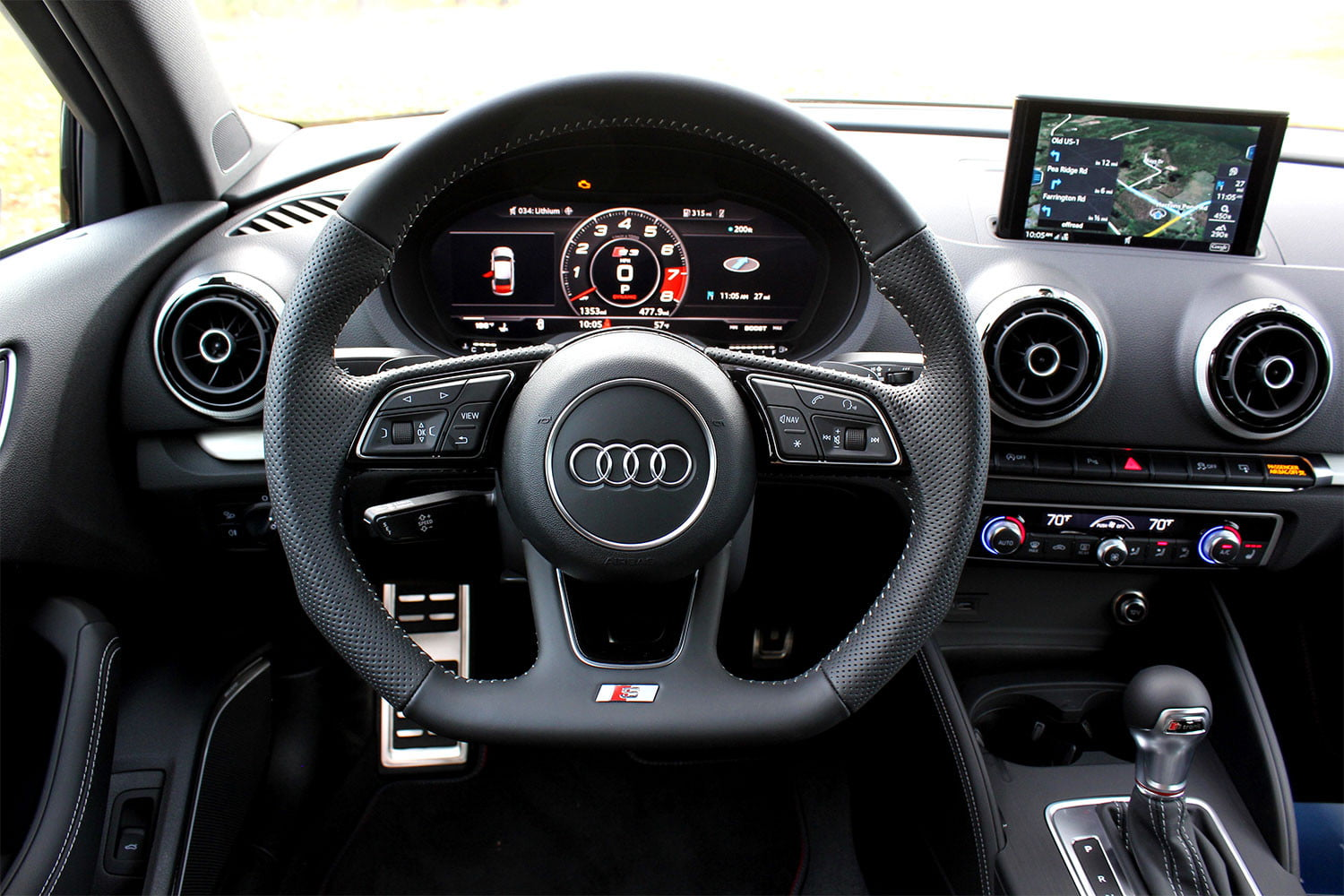 Steering Wheel Shaking >> 2017 Audi S3 First Drive Impressions | Digital Trends