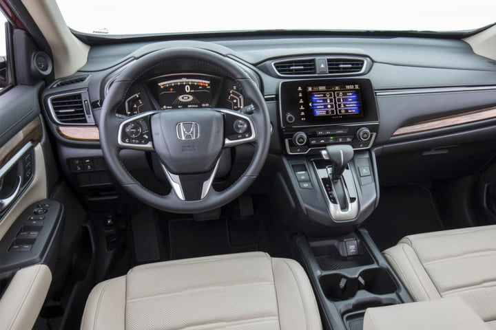 Honda Cr V 2017 Infotainment Tech