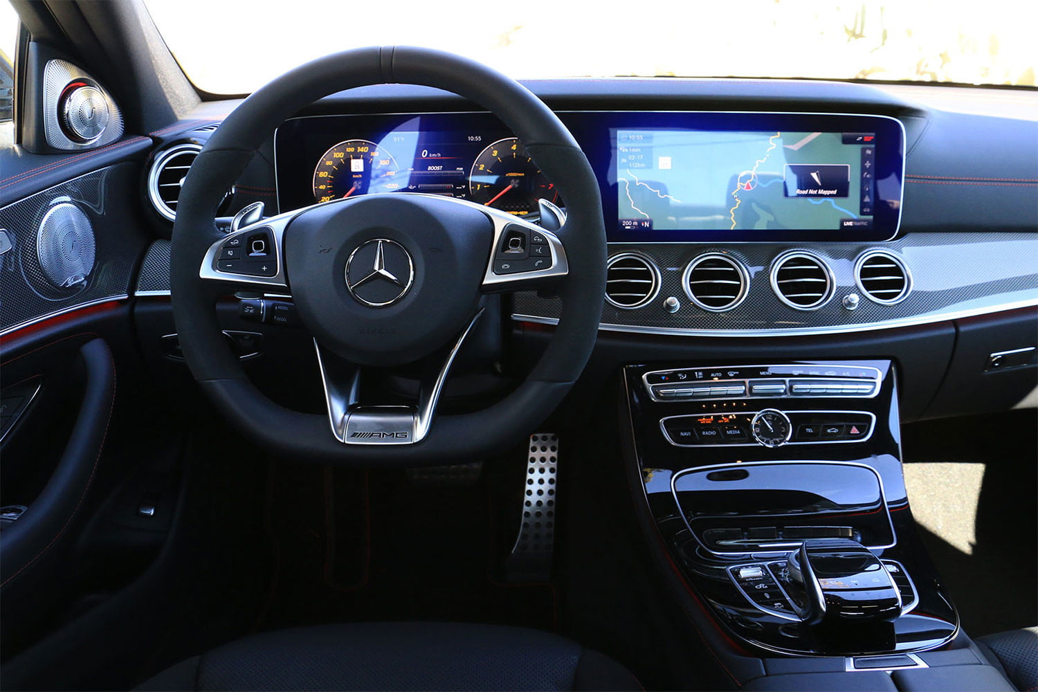 2017 Mercedes Amg E43 Sedan First Drive Digital Trends