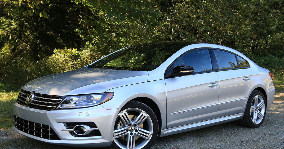 2017 volkswagen cc r line first drive digital trends. Black Bedroom Furniture Sets. Home Design Ideas