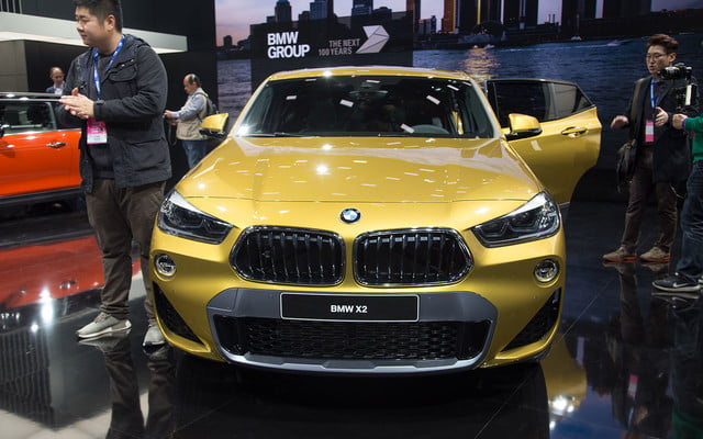 the 2018 bmw x2 takes its official worldly bow in detroit  15