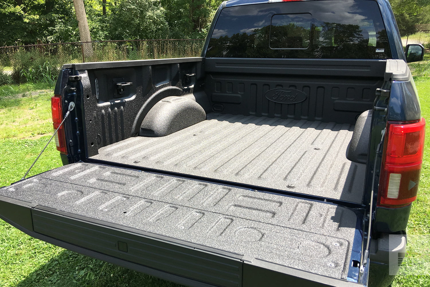 Ford F  Review Truck Bed Wide