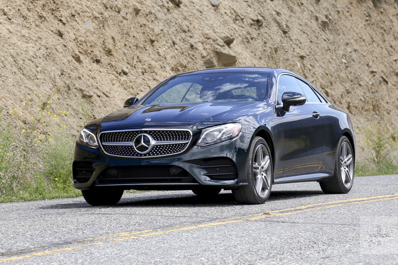 2018 mercedes benz coupe. brilliant coupe e400coupe front facing diagonal shot car angled left tight inside 2018 mercedes benz coupe