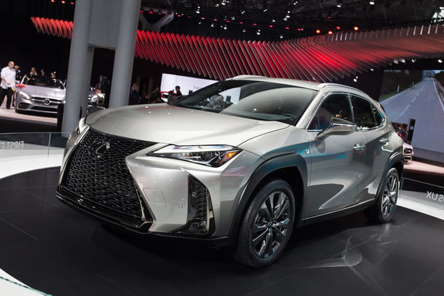 lexus ux crossover at new york auto show 2018  2019 9