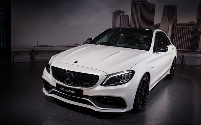 mercedes amg subtly updates c 63 lineup for new york 2018  2019 class 2