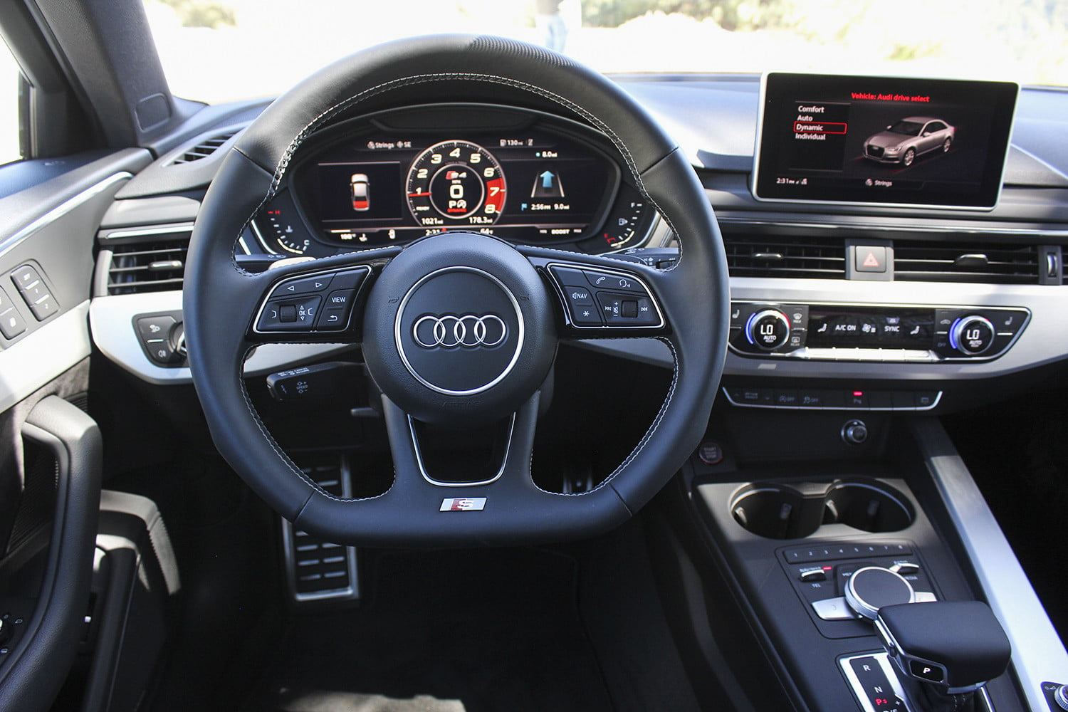 2018 Audi S4 First Drive Interior 3