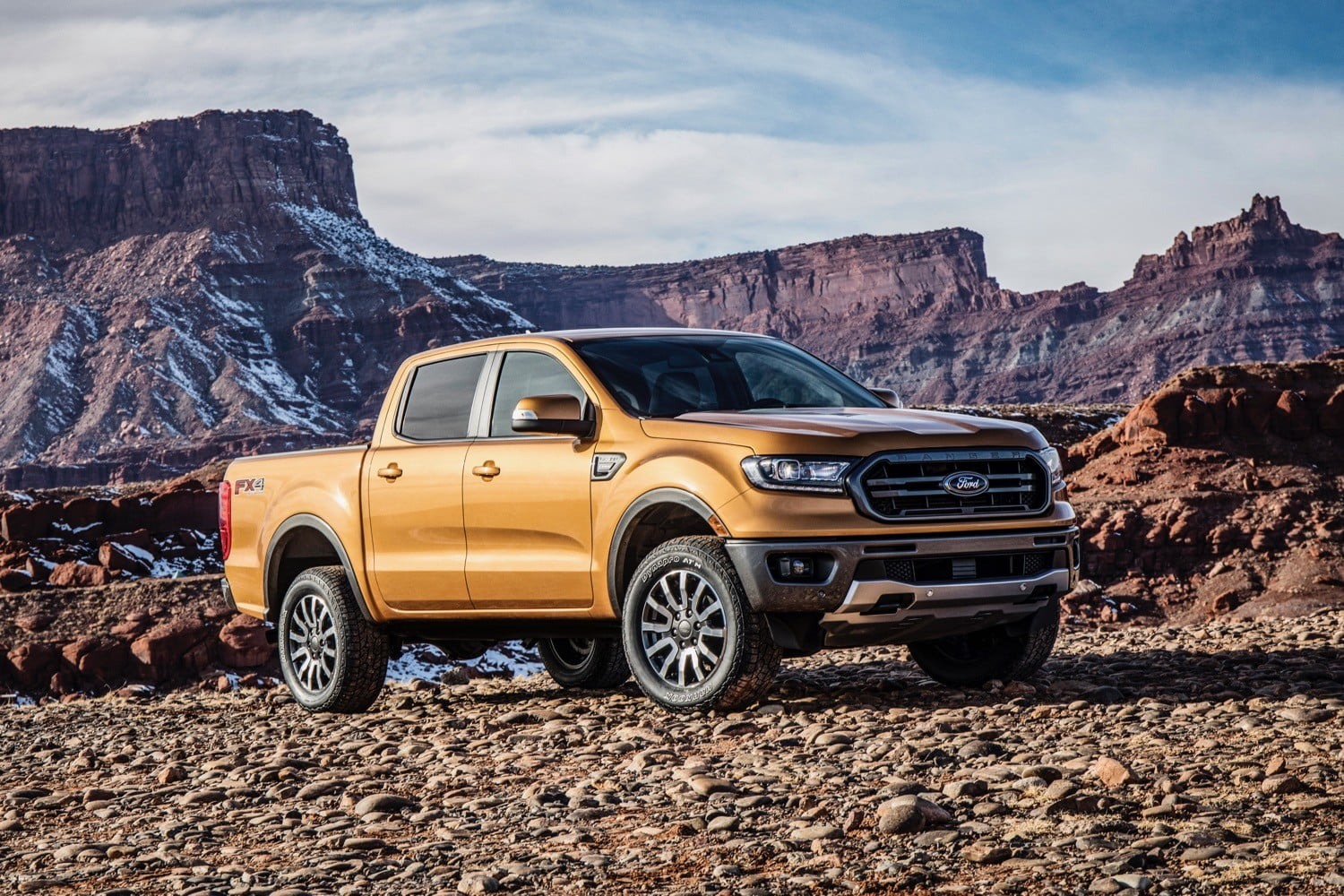 2019 Ford Ranger Tries To Match V6 Muscle With Four