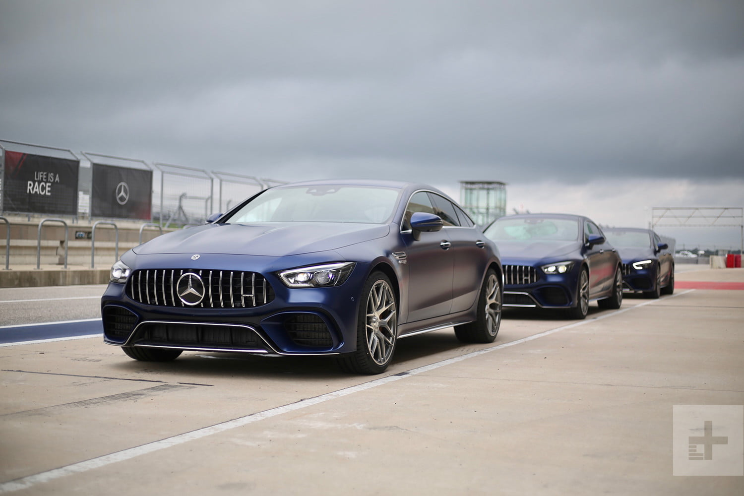 2019 mercedes amg gt 4 door coupe first drive pictures pricing digital trends. Black Bedroom Furniture Sets. Home Design Ideas