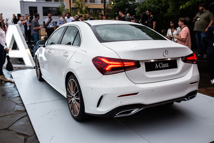 The 2019 mercedes benz a class sedan brings stuttgart for A class mercedes benz price