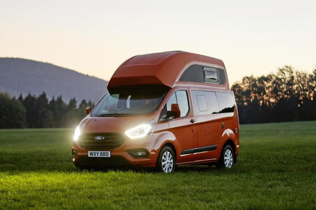 Ford S Transit Custom Nugget Compete With The Volkswagen California