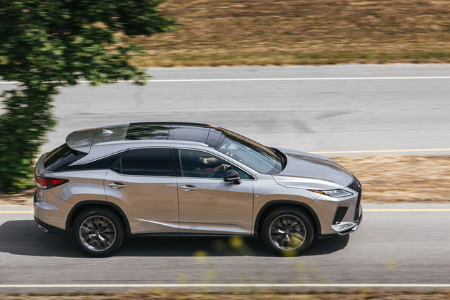 2020 lexus rx gets touchscreen smartphone connectivity official 4