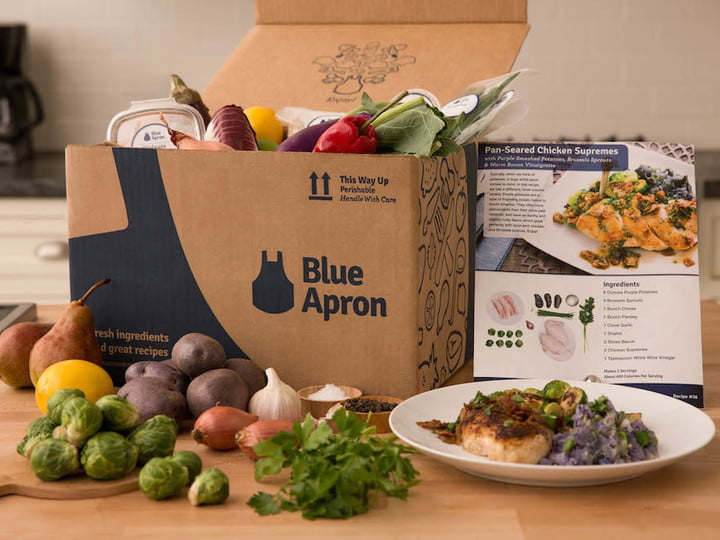 You Can Order Blue Apron Meals From Grubhub If You Live In Nyc