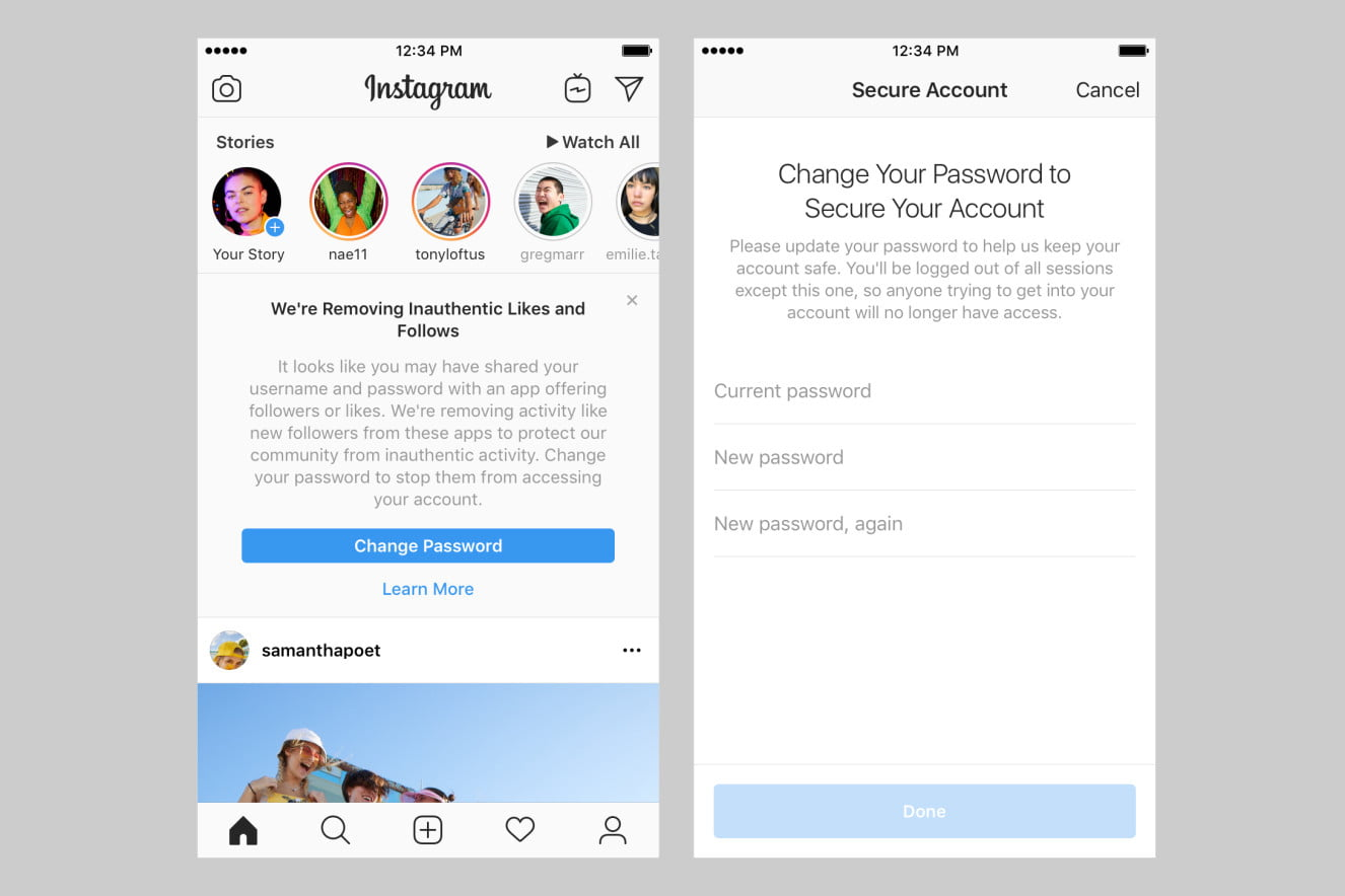 Instagram Purges Fake Followers, Likes, Comments From