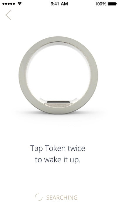 token smart ring for payments passwords 3  app wake up
