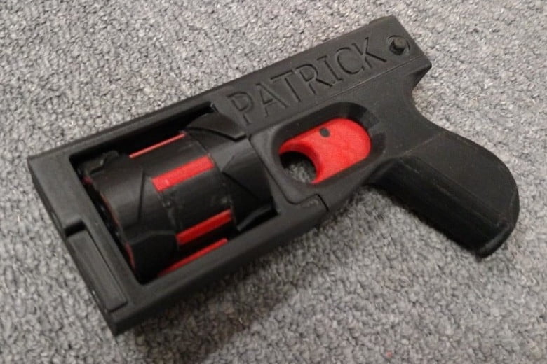 World S First 3d Printed Revolver Can Fire 8 Rounds