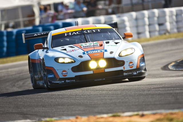 Aston Martin Vantage GTE with livery by Tobias Rehberger